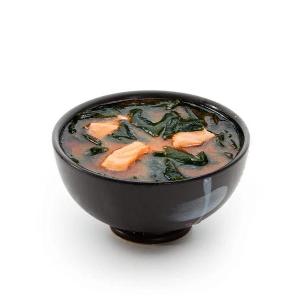 Фото 208 - Мисо суп с лососем.