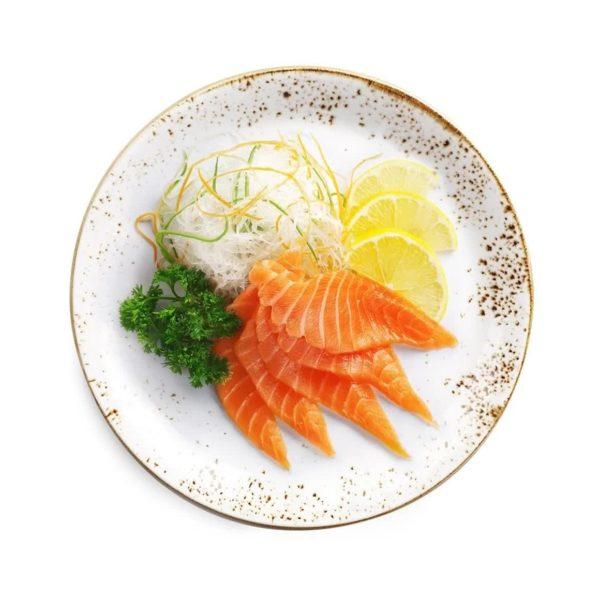 Фото 203 - Сашими с лососем.