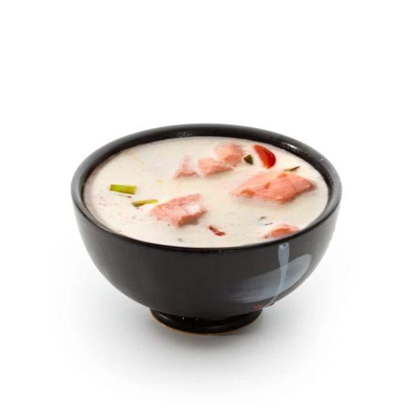 Фото 209 - Сливочный суп с лососем.