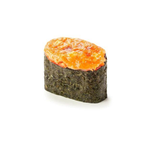 Фото 43 - Запеченные суши с крабом.