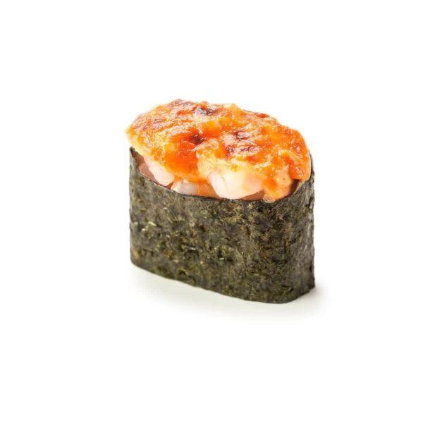 Фото 44 - Запеченные суши с креветкой.