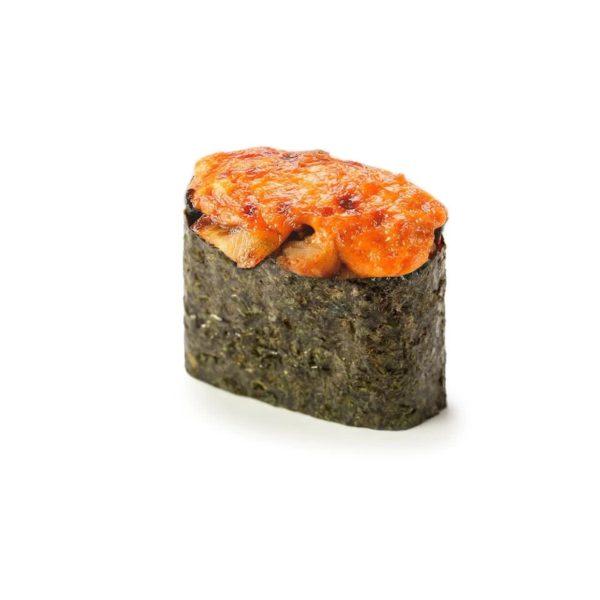 Фото 46 - Запеченные суши с угрем.